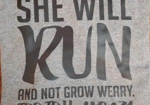 20 She Will Run - Black